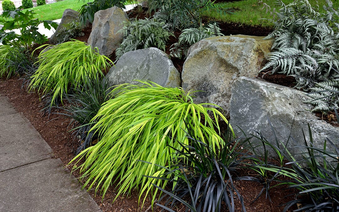 Using Landscaping Boulders Strategically