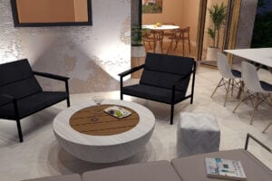 porcelain-patio-with-firetable