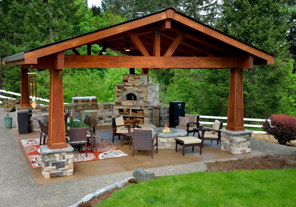 Example of Estacada landscape design by Drake's 7 Dees