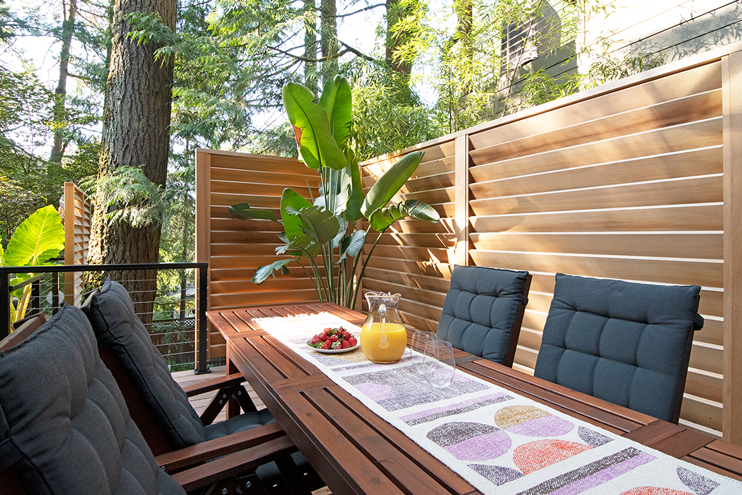 Image of a Stevenson Outdoor Living Room Design and Build by Drake's 7 Dees