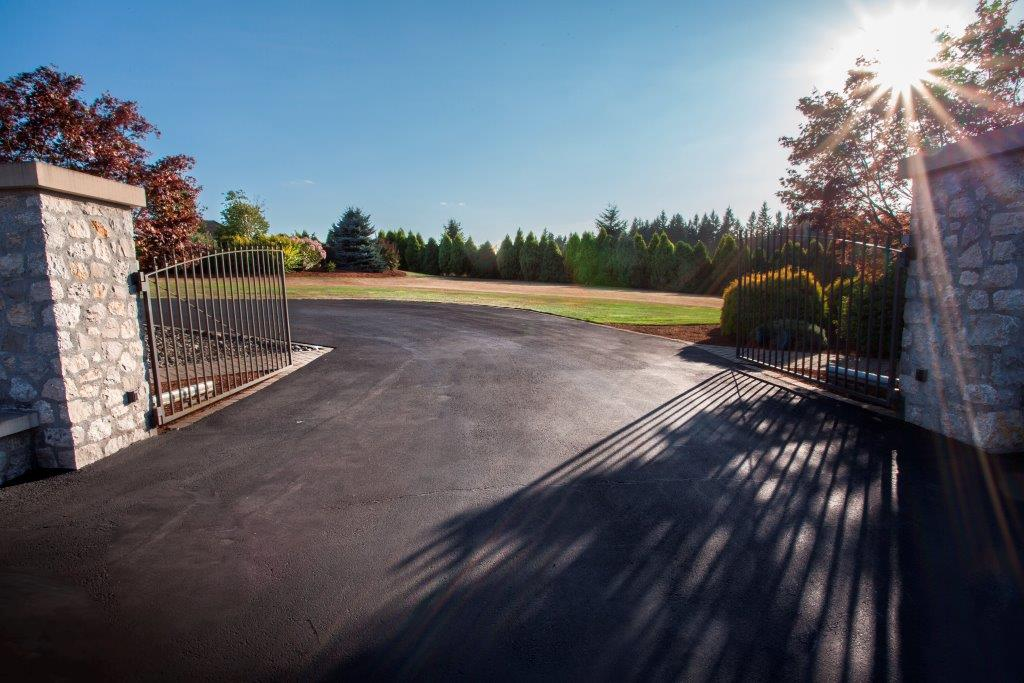 Image of a Stevenson driveway design and construction project by Drake's 7 Dees