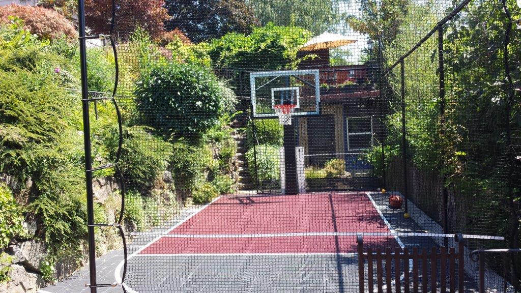 Image of a Willamina Backyard Sports Court Design and Construction by Drake's 7 Dees