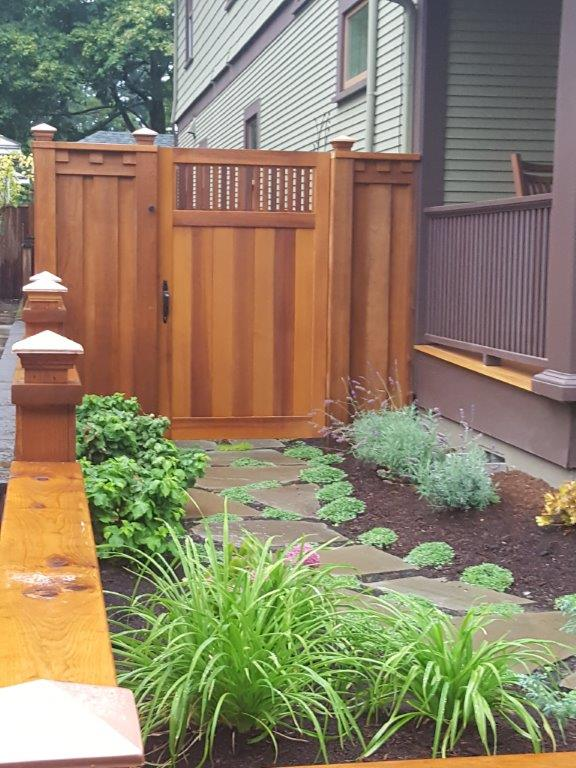 Image of a West Linn fence design and installation project by Drake's 7 Dees