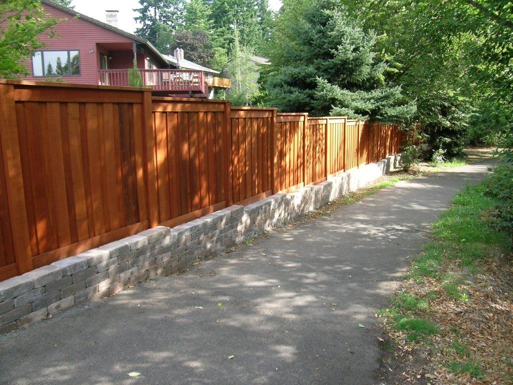 Image of a Tualatin fence design and installation project by Drake's 7 Dees