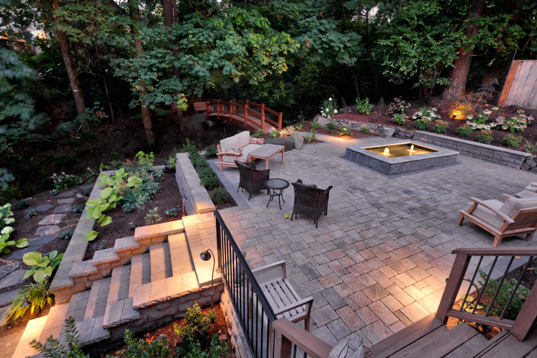 Example of Beaverton landscape design by Drake's 7 Dees